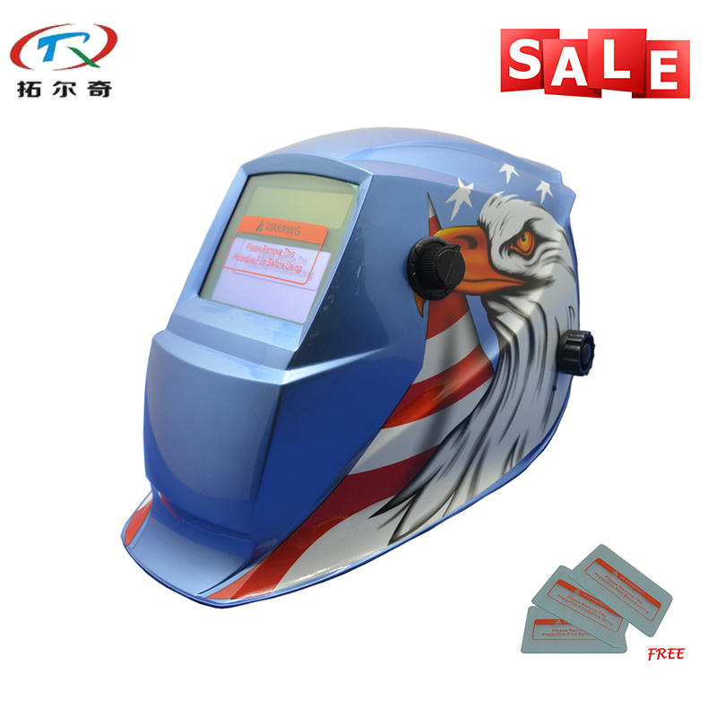 Tools Welding & Soldering Supplies Long Life Time Better Quality Long Life Time Auto Darkening Tig Fast Delivery Welding Helmet Trq-gd04-2200de Evident Effect
