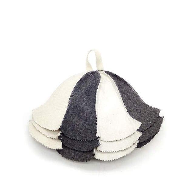 57d347c4b9c29 placeholder Allforsauna Sauna Hat Russian Banya Cap 100% Wool Felt Modern  Lightweight Head Protection for Men