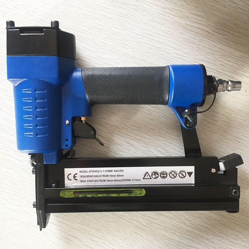 SAT1672 SF5040-A air nagelpistole holzbearbeitungswerkzeuge Nagler ...