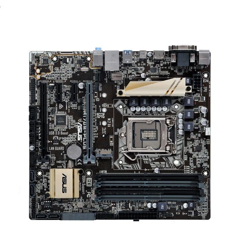 все цены на ASUS original H170 H170M-PLUS game board MATX LGA1151 specifications with M.2 interface 85%-95%new онлайн