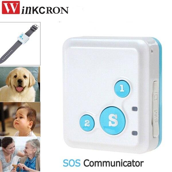 Kids/pet Mini GPS Tracker V16 GSM / GPRS Tracking Device & Multifunction SOS Communicator GPS tracking