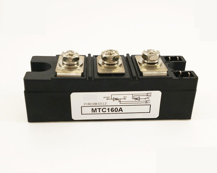 SCR MTC 160A  600V/800V/1000V/1200V/1600V Thyristor module scr module mcc312 16io1 mcc255 16io1 rndz