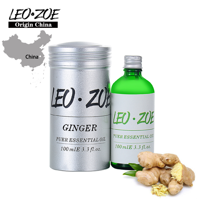 LEOZOE Ginger Essential Certificate Of Origin China High Quality Ginger 100ML Etherische Olie