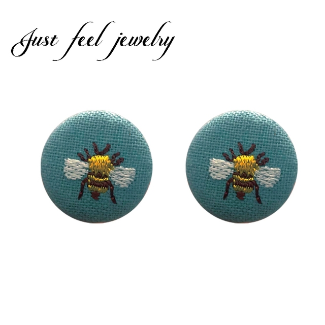 Aliexpress.com: Comprar Apenas siente moda bordado flor abeja paño ...