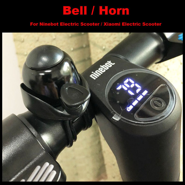 Ninebot Electric Scooter Bell Lound Universal Aluminum Small Horn MTB Bicycle Accessories for MI M365 Scooter ES1/ES2 Longboard