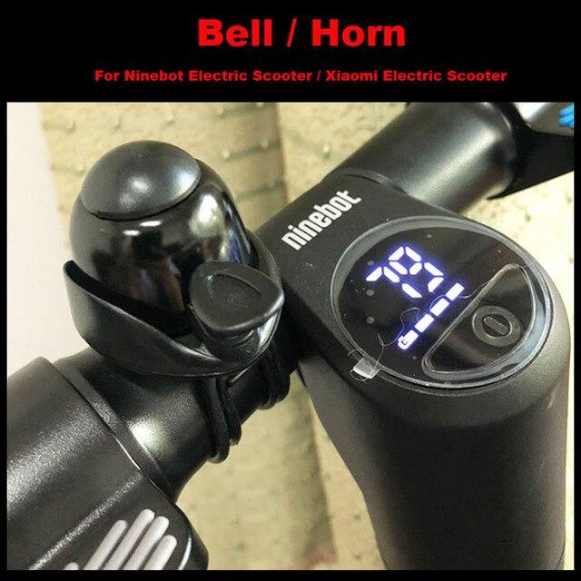 Ninebot Scooter électrique Bell lung universel, Alu mi num petite corne, accessoires bicyclette pour Scooter MI M365, Longboard ES1/ES2