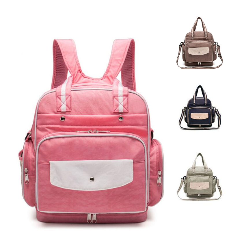 Messenger Backpack Handbag Tote Hobos Bag for Mother Baby Nappy Diaper Maternity Mummy Bag Waterproof Baby