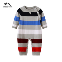 Infant baby romper knitted Sweater long sleeve winter autumn clothing newborn kids jumpsuits overalls 2019 new high quality