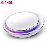 Intelligent Car Air Purifier Portable Ionizer Air Purifier HEPA Filter Aroma Diffuser Air Freshener Cleaner Best for Car Home