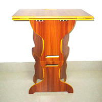 1pcs Pro Wooden Folding Magician Table Magician S Best Table Stage Magic Tricks Professional For Magician