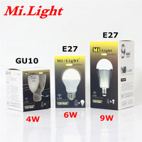 1 X nueva AC85-265V original de Mi luz bombilla LED GU10 E27 CW WW lámpara de LED 110V 220V 4W 6W 9W blanco frío/luz LED blanca cálida