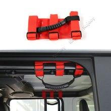 Ткань Оксфорд салона подлокотник ролл бар крепление сбоку поручень для Jeep Wrangler JL 2018 до стайлинга автомобилей