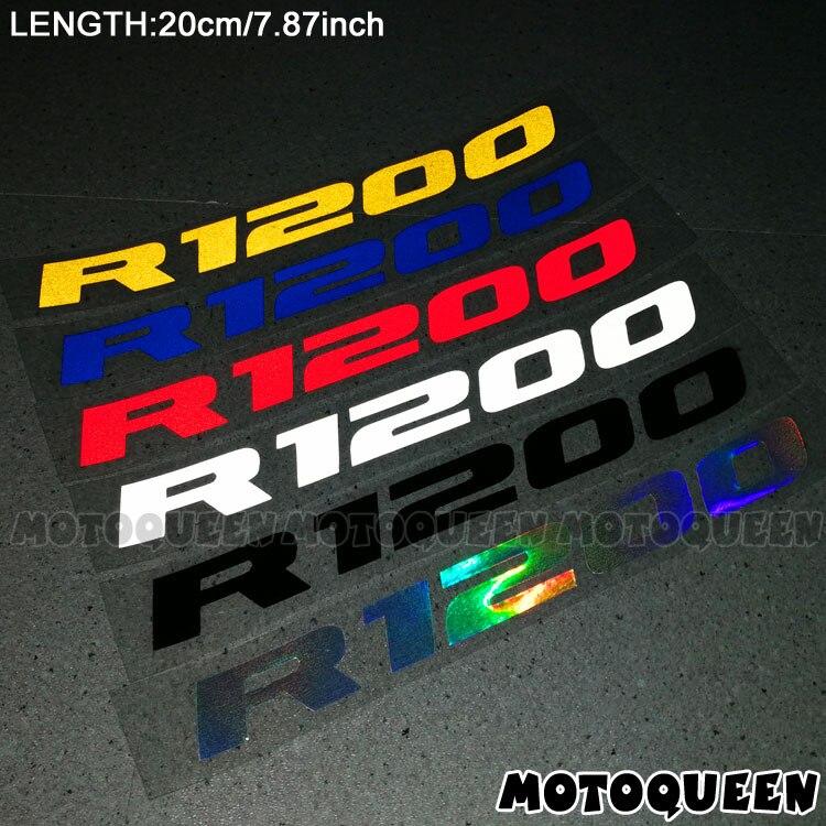 Moto corps roues carénage casque réservoir Pad décoration étiquette accessoires réfléchissants autocollants moto décalcomanies pour R1200