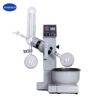 ZOIBKD High Quality RE 2000B Motor Automatic Lifting Rotary Evaporator/Evaporation Apparatus for Laboratory Vacuum Distillation