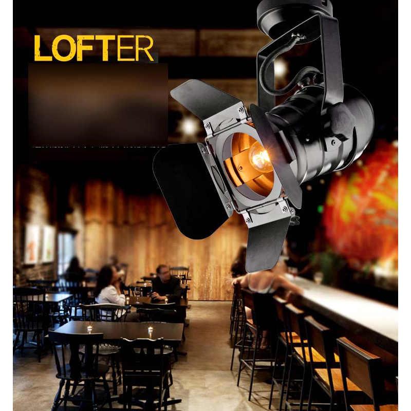 Черный E27 светодиодный настенный светильник из легкого сплава железа ретро E27 промышленный Винтаж настенный светильник крепление для светильника де Parede