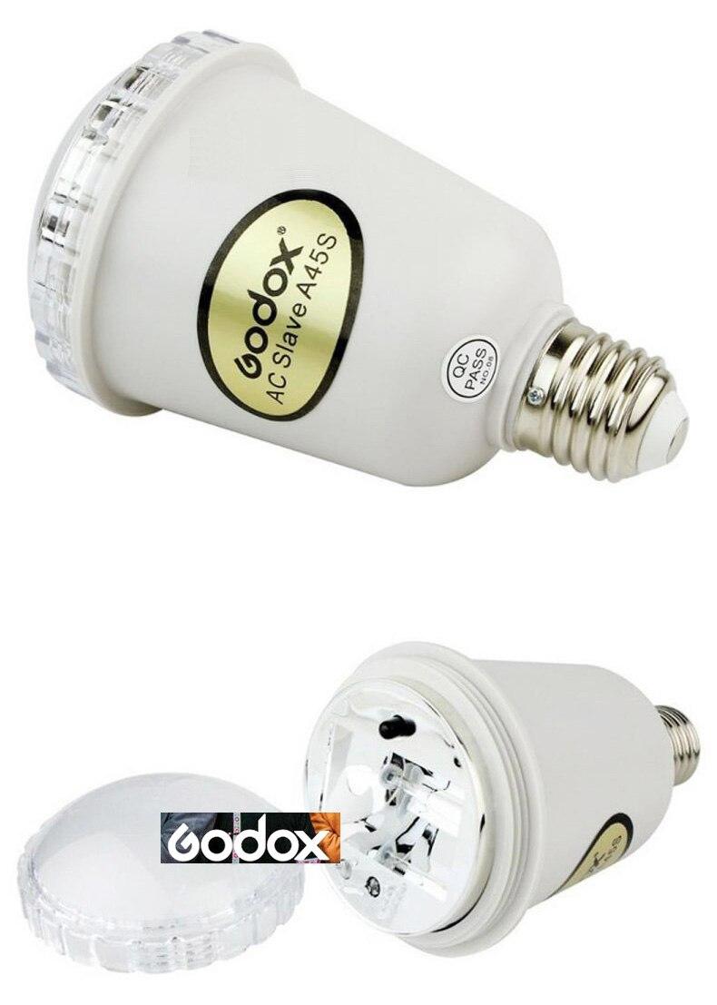 Godox A45s Photo Studio Strobe Light AC Slave Flash Bulb E27 220V