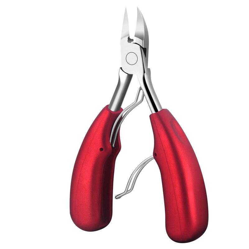 Doppel Frühling Weichen Gummigriff Fingernagel & Zehennagel Hautzange Trimmen Cutter Schere Zange Nagelknipser Cutter NT57