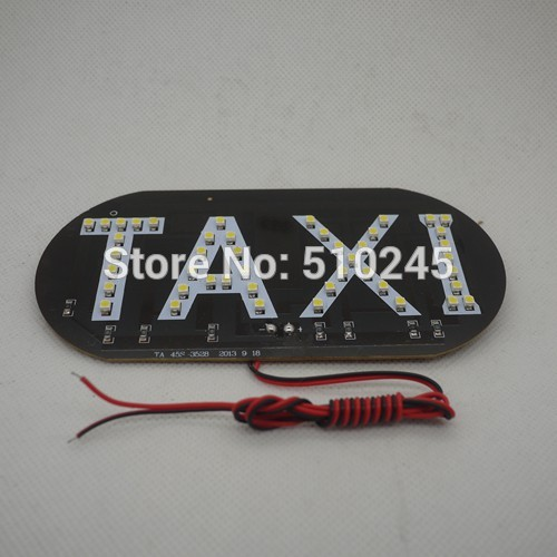 100pcsX 45SMD LED white/blue/green/red/yellow Car Auto Cab Sign top Light Vehicles Winds ...