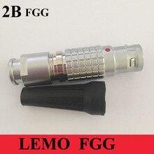 LEMO M15เชื่อมต่อFGG 2B 2 3 4 5 6 7 8 10 12 14 16 18 19ขาชายเสียบLEMO FGG.2Bทางการแพทย์ปลั๊กสายWeildingเชื่อมต่อ