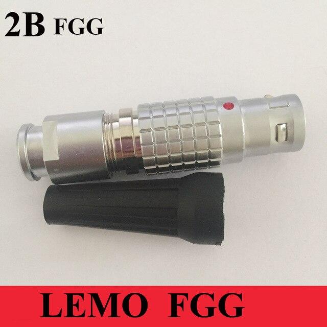 LEMO M15 konnektör FGG 2B 2 3 4 5 6 7 8 10 12 14 16 18 19 Pin Erkek fiş LEMO FGG.2B Tıbbi fiş Kablosu Kaynak Konnektörü