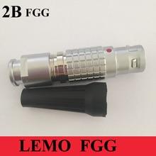 LEMO M15 nối FGG 2B 2 3 4 5 6 7 8 10 12 14 16 18 19 Pin Nam Cắm LEMO FGG.2B Y Tế phích Cable Weilding Nối