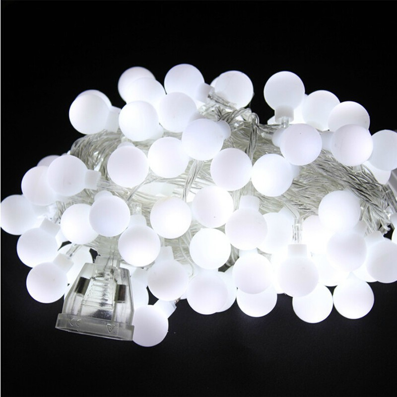 10m 100LED Waterproof LED Home Outdoor Holiday Christmas Decorative Wedding  Xmas String Fairy Garlands Strip Party Lights In LED String From Lights ...