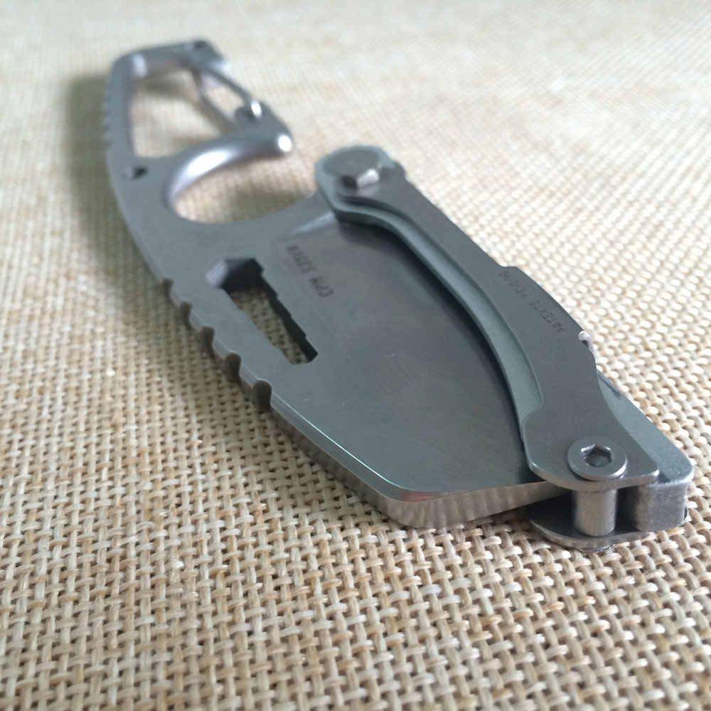 Высокое качество 61HRC CPM-S35VN порошок Сталь лезвие S35VN ручка карманный складной нож боевой и туристический нож на открытом воздухе, инструменты для выживания в диких условиях
