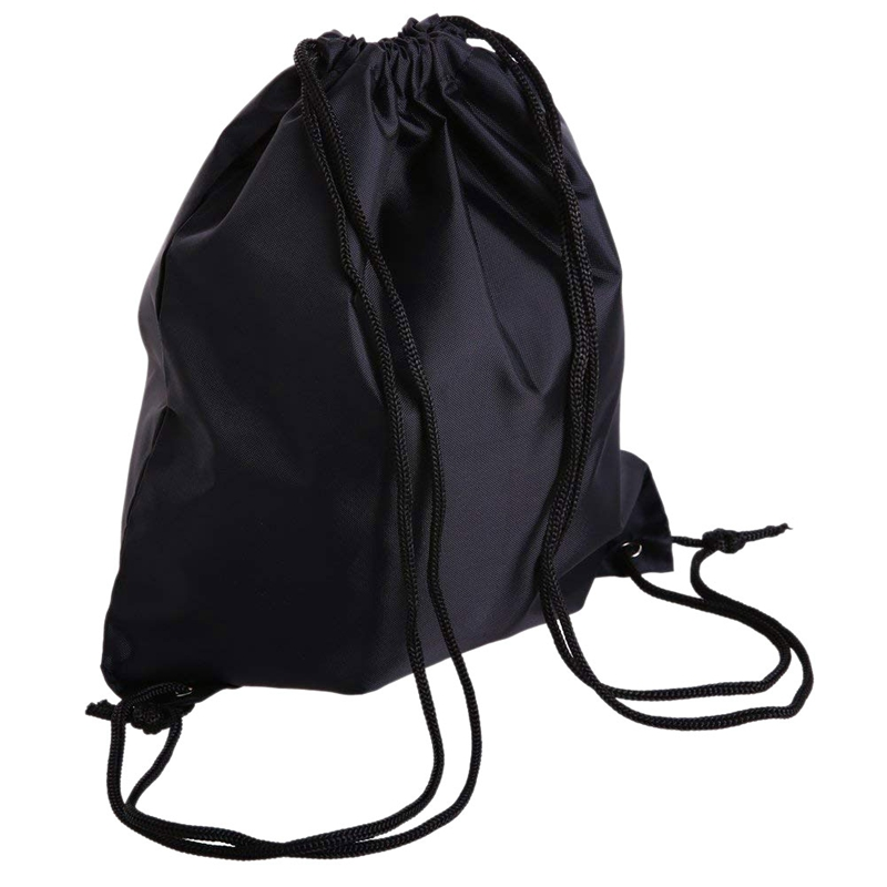 Drawstring Bag Folding Sport Backpack Nylon Gym Training Sackpack Storage Portable Use