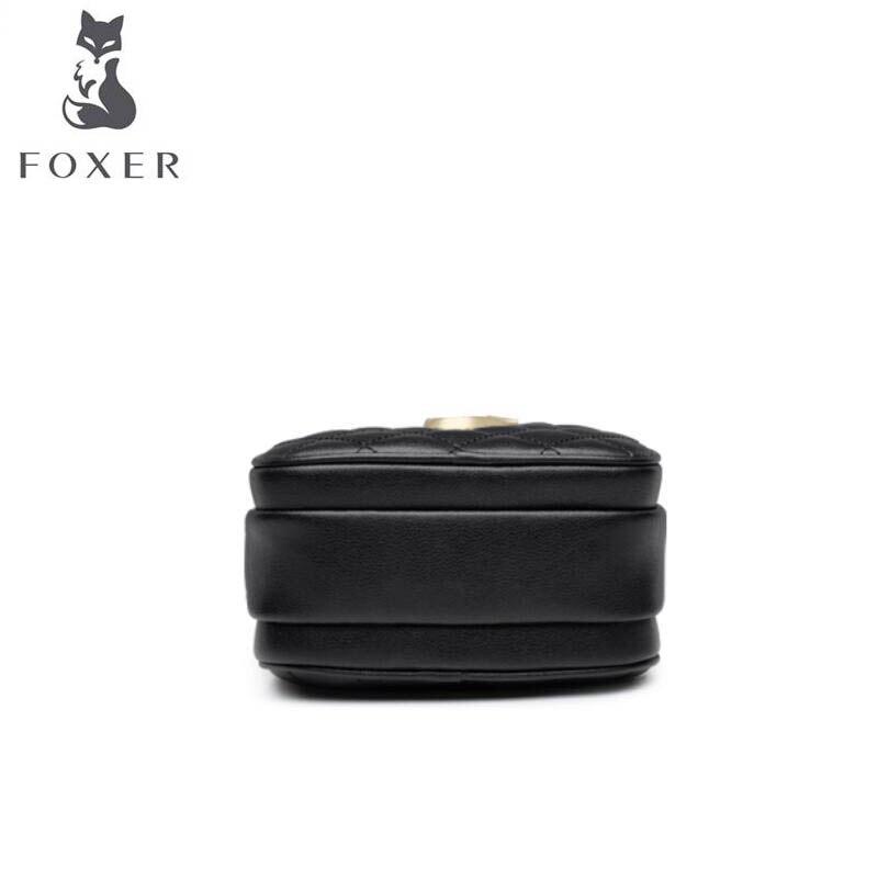 Коровья кожа сумка 2019 новая дикая маленькая аромат модная сумка мини сумка через плечо маленькая круглая сумка женская - 5
