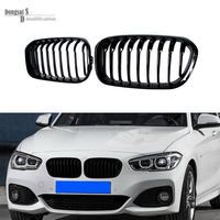 High quality ABS material front bumper grille grills for BMW 1 series F20 LCI grill F21 2015 + 116i 118i 120i 135i