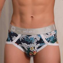 b8ab740ad6 Mens Sexy Underwear Shorts Underpants Cartoon Prints Soft Cotton Briefs  Panties(China)