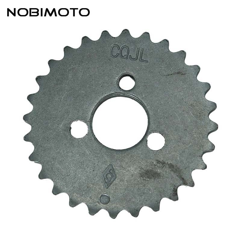 Sprocket Chain Motorcycle Transmission 28 Tooth Timing Gear For <font><b>Lifan</b></font> <font><b>110cc</b></font> Dirt Pit Bike ATV <font><b>Quad</b></font> Go Kart Buggy Scooter GT-155 image