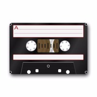 Retro Fashion Funny Decoractive Cassette Tape Machine Washable Fabric & Non slip Rubber Backing Indoor Outdoor Doormat Floor