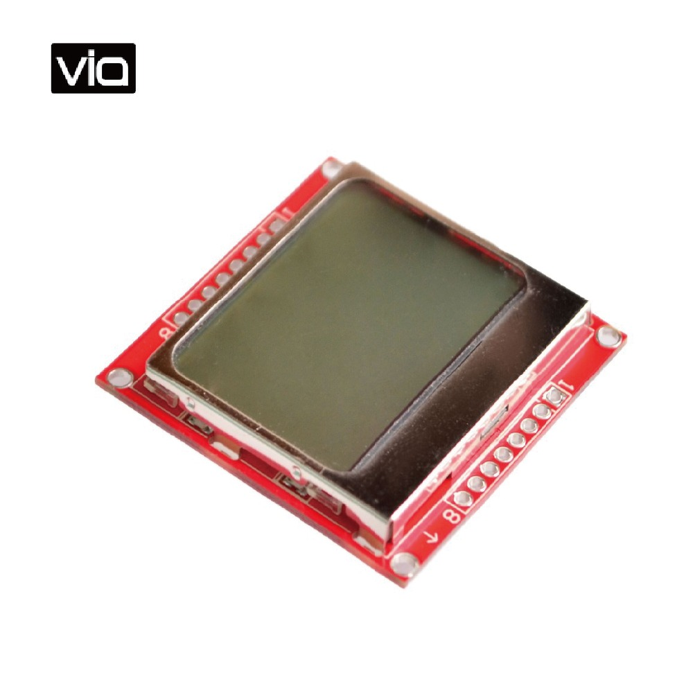font b Arduino b font 5110 Free Shipping Smart Electronics LCD Module Display Monitor White