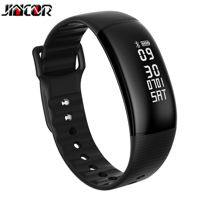 US $40 67 |Aliexpress com : Buy JINCOR A69 smart hand ring to remind heart  rate blood pressure test step fitness tracker GPS positioning waterproof