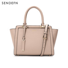 Sendefn Bag Snake Pattern Women Bag Color Women Crossbody Bag Quality Handbag Women Leather Gray Handbags 2 Colors 7133-68(China)