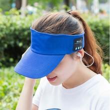 2017 Newest Baseball Caps Sun Hats Bluetooth Headphones Earphones Wireless Sports Headset for Baseball Outdoor Sporting