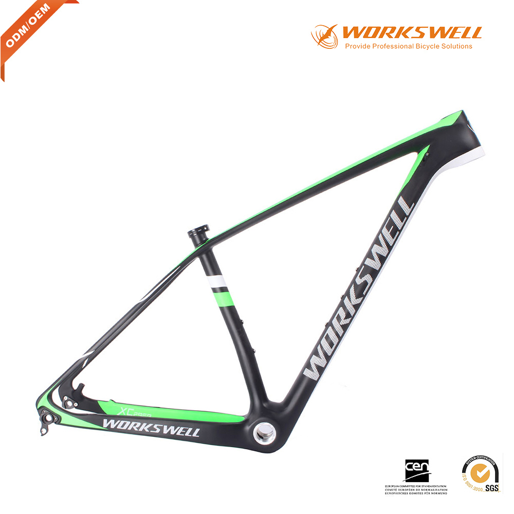 2017 Workswell MTB 29ER Hardtail Mountain Bike Carbon Frame XC MTB ...