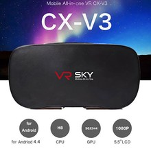 VR SKY CX-V3 All-in-one 3D Headset Virtual-reality-brille 1080 P 100 Grad FOV mit Touch Pad Tf-einbauschlitz