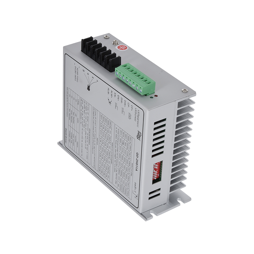 ZJMZYM New QD-2H811A Stepper Motor driver Used To Drive 110, Phase Current 6A(Peak) Two-phase Hybrid Motor 400W 40,000 Steps Max