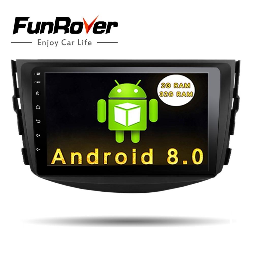 Funrover IPS Android 8.0 2 din Car dvd Player For Toyota RAV4 Rav 4 2007 2008 2009 2010 2011 usb wifi gps navigation video radio youmecity new android 8 1 car dvd player for toyota rav4 rav 4 2007 2008 2009 2010 2011 2 din 1024 600 car dvd gps wifi rds