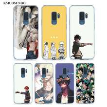 Transparan Clear Cover Boku No Hero Academia untuk Samsung Galaxy Note 10 9 8 Pro S10e S10 5G S9 s8 S7 Plus Case(China)