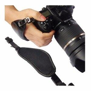 Image 5 - หนังแท้สายคล้องมือกล้องจับสำหรับSony Olympus Panasonic DSLRอุปกรณ์กล้องมืออาชีพ