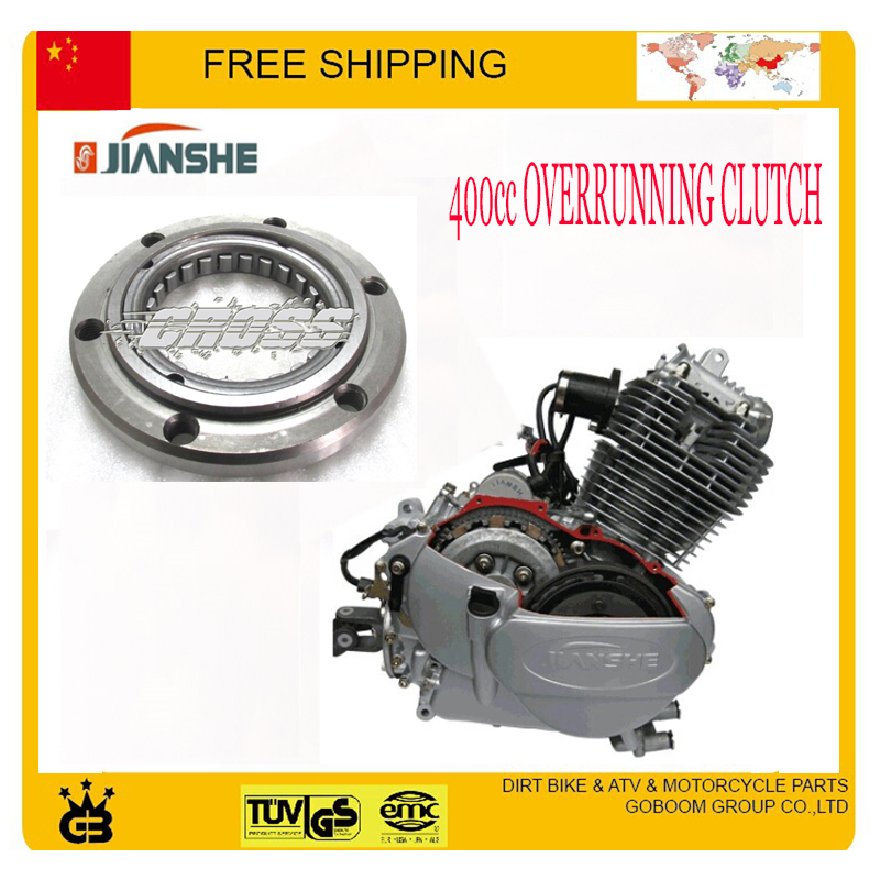 overrunning clutch ATV400 jianshe engine 400cc ATV quad accessories Parts Free shipping