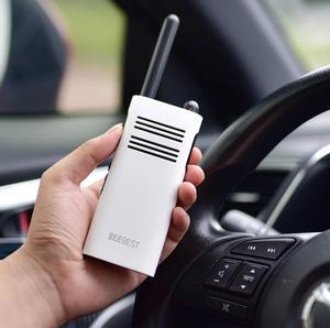 Image 4 - XIAOMI Mijia BeeBest A208 Handheld Walkie Talkies Blue 3350mAh 5W 1 5KM Two Way Radio for Outdoor Indoor Building Security