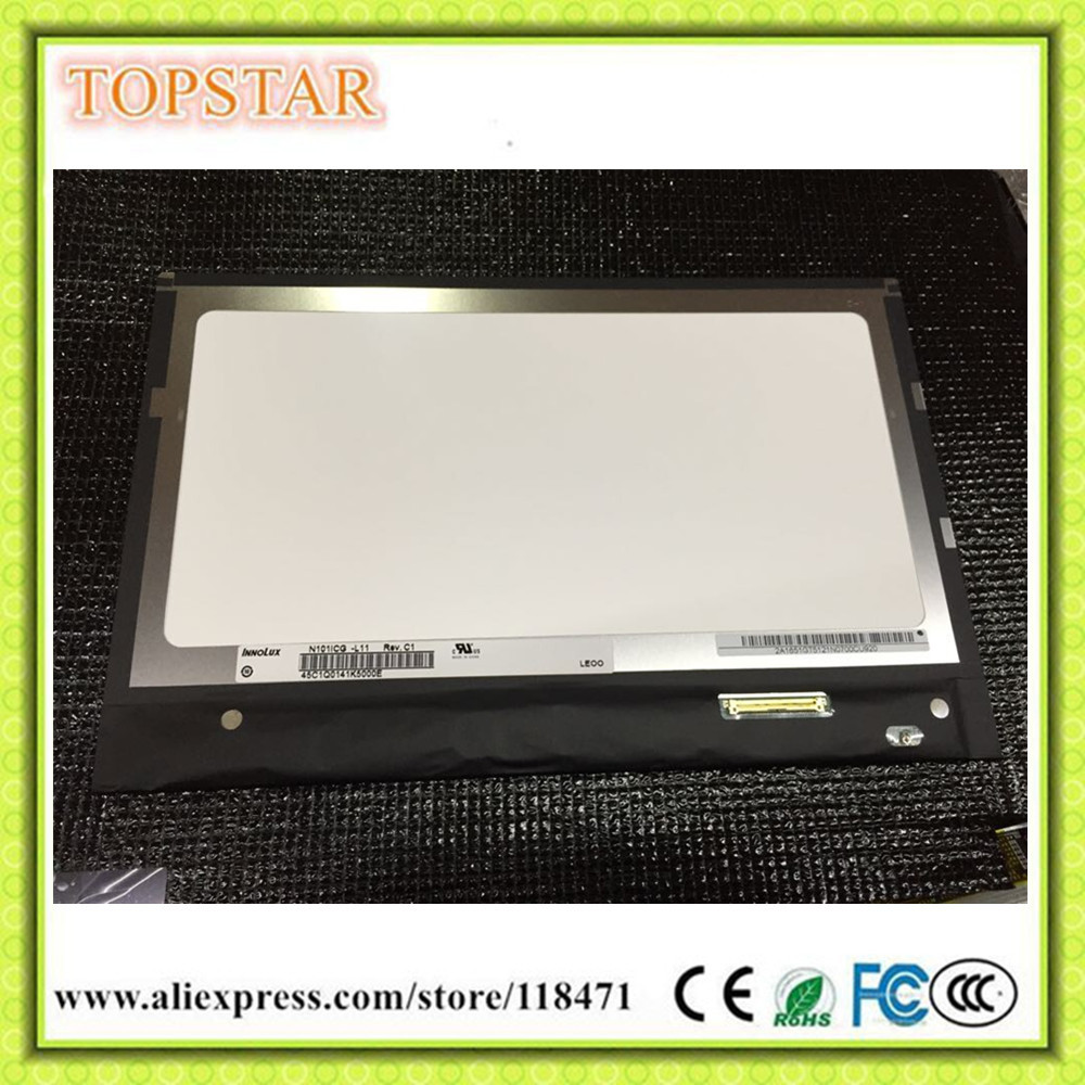 Original A+ Grade 10.1 Inch TFT AAS LCD Panel N101ICG-L21 N101ICG L21  WLED LCD Display LVDS LCD Screen
