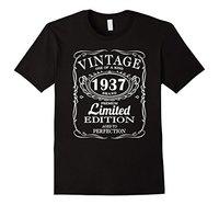 2017 Hot Sale New Men S T Shirt Born In 1937 Tshirt 80th Birthday 80 Years