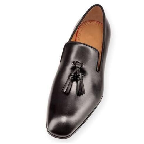 Boda mate Planos Venta 2017 Negro 47 as Charol Rojos Hombres As Tamaño Ocasionales Borla Zapatos Caliente Del De Pic Pic otoño Inferiores Cuero Primavera Z6wqdx68S