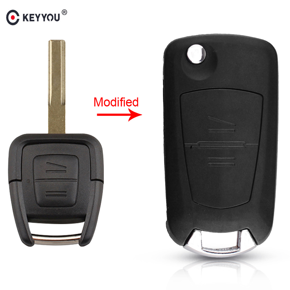 KEYYOU Modified Car Key Case Shell For OPEL VAUXHALL Vectra Zafira Omega Astra H J Insignia G Mk4 B C Mokka HU43 Blade