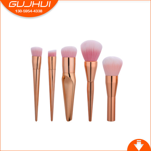5 Makeup Brush Sets, Beauty Tools, Foundation Brush, Loose Powder Brush, Flat Brush Combination, GUJHUI 5 mermaid makeup brush sets beauty tools make up equipment powder brush gujhui one